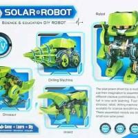 Jual ROBOT SOLAR T4 TRANSFORMER JURASIC PARK 4IN1 Murah