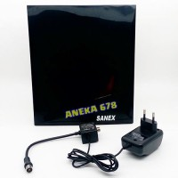 Sanex Sn 711 Antena Tv Dalam Indoor Digital Analog Hdtv Dvb-t/h Adtb-t
