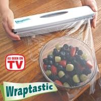 Wraptastic Plastic Dispenser Pembungkus Makanan Plastik Wrapping