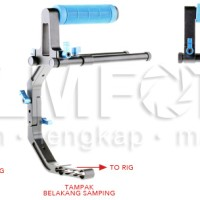 DSLR RIG TOP HANDLE (FOR LOW ANGLE)