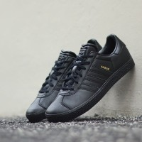 "ADIDAS ORIGINALS GAZELLE II ""BLACK / BLACK"" ORIGINAL MADE IN INDONESIA"