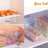 Kotak Tempat Penyimpanan Telur ( Egg Box Storage ) Isi 10 Sekat