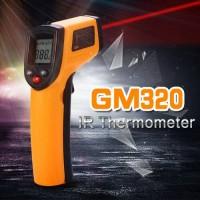 Jual Digital Thermometer gun infrared pengukur suhu panas Murah