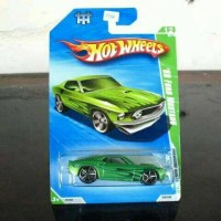 Hot wheels T - Hunt 69 Ford Mustang