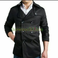 harga trench coat Tokopedia.com