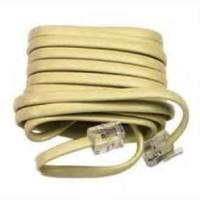 Kabel LINE Telpon KITANI 20 m + Jack RJ 11 Telepon Telfon Cable 20m