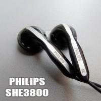 Earphone Phillips She3800 Original (Non Box)