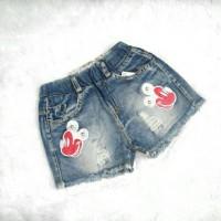 hotpants 2-6 tahun celana pendek jeans anak kids balita toddler