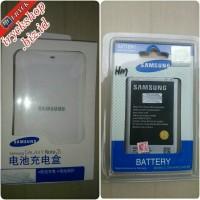 desktop charger + baterai/batre samsung galaxy note 3 n9000 original sein 100%