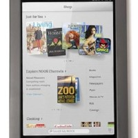 Nook HD 7 inch, warna smoke grey