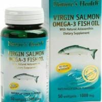 harga Nature Health Virgin Salmon Omega 3 Fish Oil Isi 50 Tokopedia.com