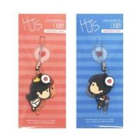 HJ Story Phone Charm Girl/ Phone Strap/Gantungan Handphone
