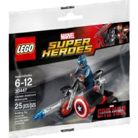 Captain America Motorcycle 30447 Lego Super Heroes Capt America's