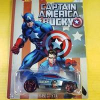 Hot Wheels Captain America & Bucky Spectyte