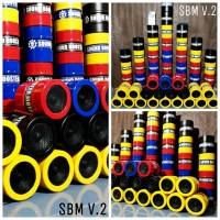 """sound booster motor v2 ukuran 3"""" mudah dipasang suara motor balap"""