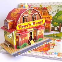 3D Puzzle Toy| Puzzle 3 Dimensi Bread Store | Agen Mainan Online