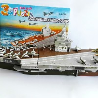 3D Puzzle Toy | Puzzle 3 Dimensi Aircraft Carrier | Toko Mainan Online
