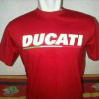 tshirt/t_shirt/ kaos motor DUCATI