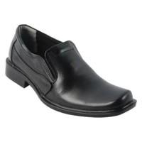 Catenzo Black Pantofel Pria Kulit - Sepatu Formal Cibaduyut