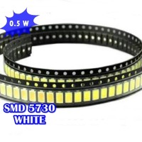 LED SMD 5730 55-65LM PURE WHITE 6000-7000K
