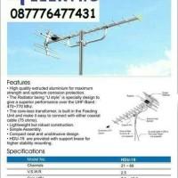 harga Paket Antena Yagi HDU-19 + 1 Tiang 3m + 10m kabel + konektor Tokopedia.com