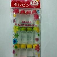 Daiso Sauce container/Tempat saos sambal mini/Botol saos