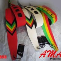 harga Strap Gitar Reggae/rasta(tersedia 3 Pilihan Motif) Tokopedia.com