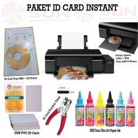PRINTER EPSON L805 Wifi Paket Usaha ID Card - SUN Art Paper Ink