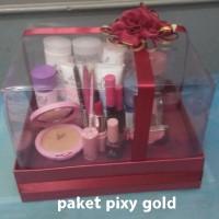 Paket Seserahan Paket Hemat Pixy Gold Free Kotak Mika