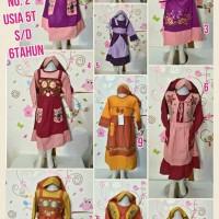 Gamis anak, baju muslim anak / baju hijab anak, baju gamis 946