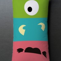 Bantal Sofa / dekorasi Cartoon - Monster Inc Long 026