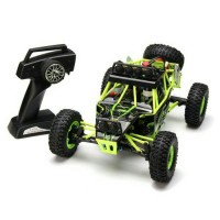 WL Toys 12428 1:12 4WD 2.4GHz Rock Crawler RC Car With LED