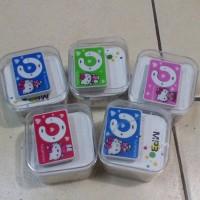 MP3 Hello Kitty Clip/Portable Mini Clip MP3 Player Hello Kitty