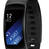 Samsung Gear Fit 2 - Large - Hitam