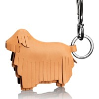 TUMI Fringe Dog Key Fob #14770TN