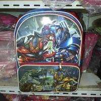 Jual Tas sekolah gambar Transformers untuk kelas SD Murah