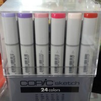 Jual copic sketch marker set 24 basic color Murah
