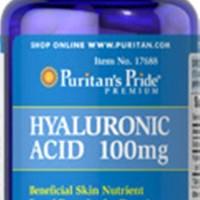 Puritan Hyaluronic Acid 100mg 60Capsule - Obat Suplemen Sendi, Ligamen
