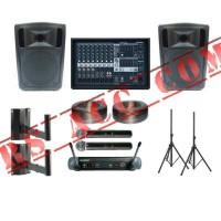 Harga paket sound system outdoor dan indoor studio 15 inch | Pembandingharga.com