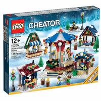 Lego 10235 Winter Village Market Christmas City Creator Cat Horse
