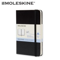 Moleskine Art Plus Sketchbook Pocket Plain - Black Hard Cover