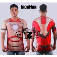 Kaos Tshirt Under Armour Alter Ego Iron Man 2