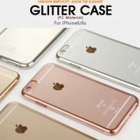 Baseus Glitter Series Case iPhone 6s / 6 Hardcase Clear Transparent