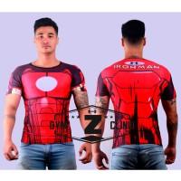 Kaos Tshirt Under Armour Alter Ego Iron Man