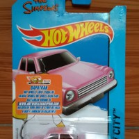 Hot Wheels The Simpsons - Family Car