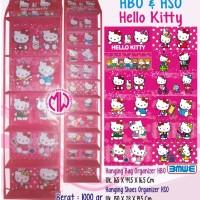 Rak Sepatu Gantung Hanging Shoes Organizer Hso Karakter Hello Kitty