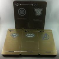 Motomo Super Hero Metal Bumper Hard Back Case Cover Sony Xperia E3