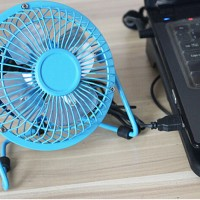 Kipas Angin Mini Usb / Usb Mini Fan / Portable Usb Fan Besi (Metal)