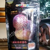 harga Pelet Pakan Louhan Import Okiko Platinum (Head&Color) 100gr size M Tokopedia.com