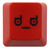 KeyPop Red LOD (Look of Disapproval) Keycap